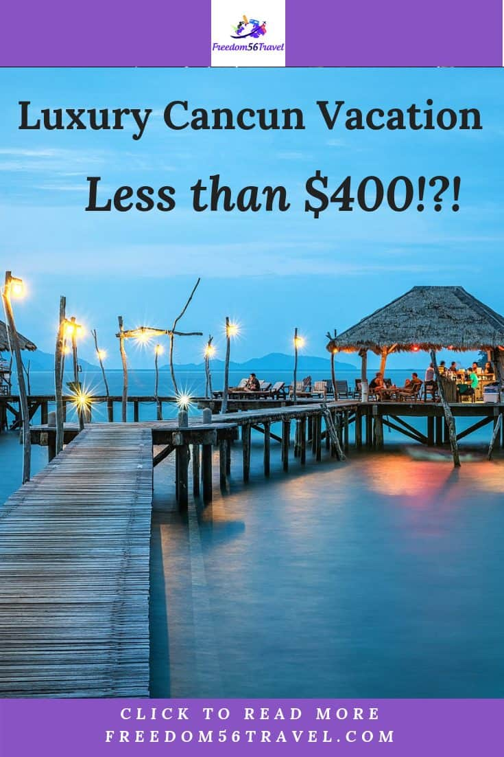 You CAN have luxury travel for less in Cancun, Mexico. Whether all-inclusive vacation or resort, a vacation and things to do in Mexico can be very affordable. Check out my best tips and tricks.