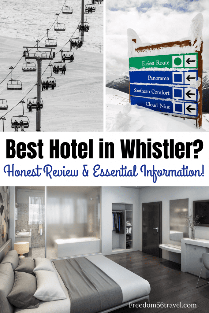 Pinterest image for Pan Pacific Whistler mountainside hotel review