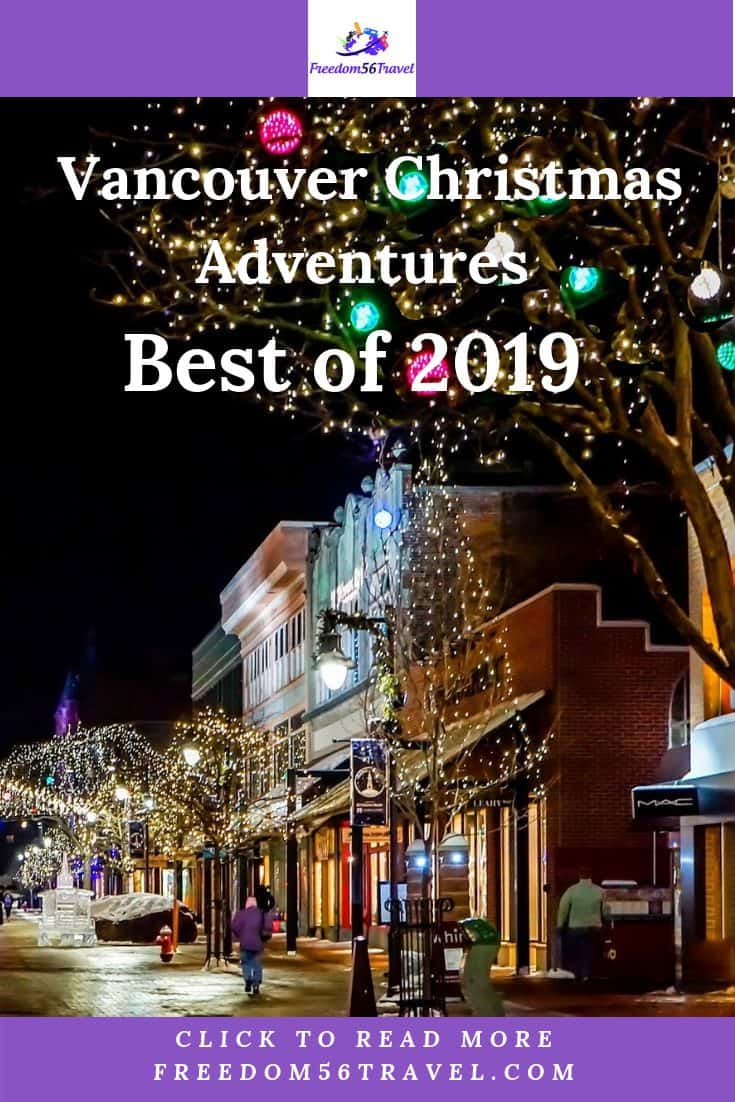 The best things to do at Christmas in Vancouver! Ideas for your table, party decorations, baking at more at these Christmas events! #decorations #table #gifts #party #food #ideas