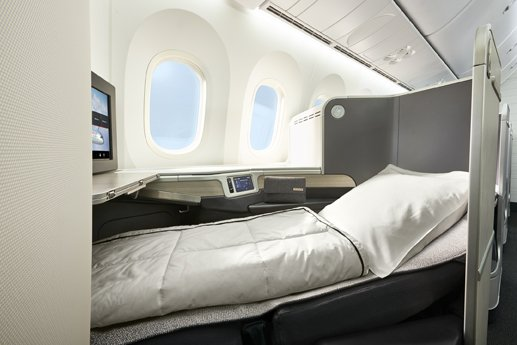 Business Class to Europe on Aeroplan vacations