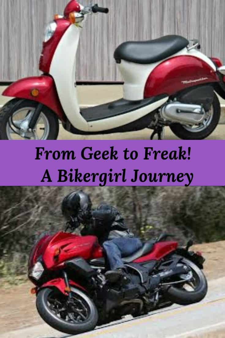 Are you a biker girl too? From a rank beginner to a seasoned rider, I learned about gear, bikes, helmets and Honda's. Learn more about my journey here!