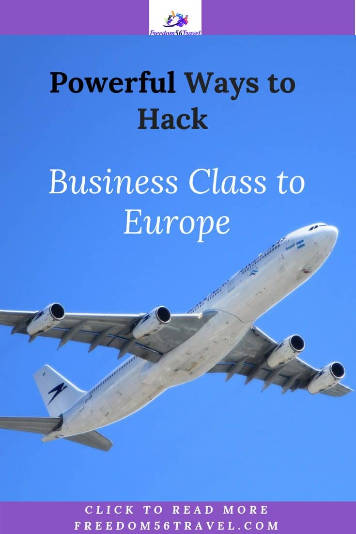 Pinterest Image for Aeroplan vacations to Europe