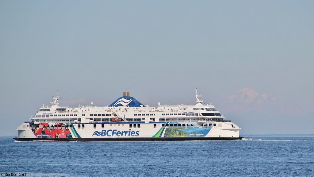 BC Ferries Vancouver to Victoria - the Coastal Celebration -