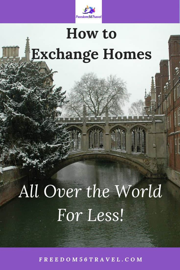 Do you dream of inexpensive adventure vacations and travel? See my tips for how to home exchanging in the United States and Europe for your next vacation.
