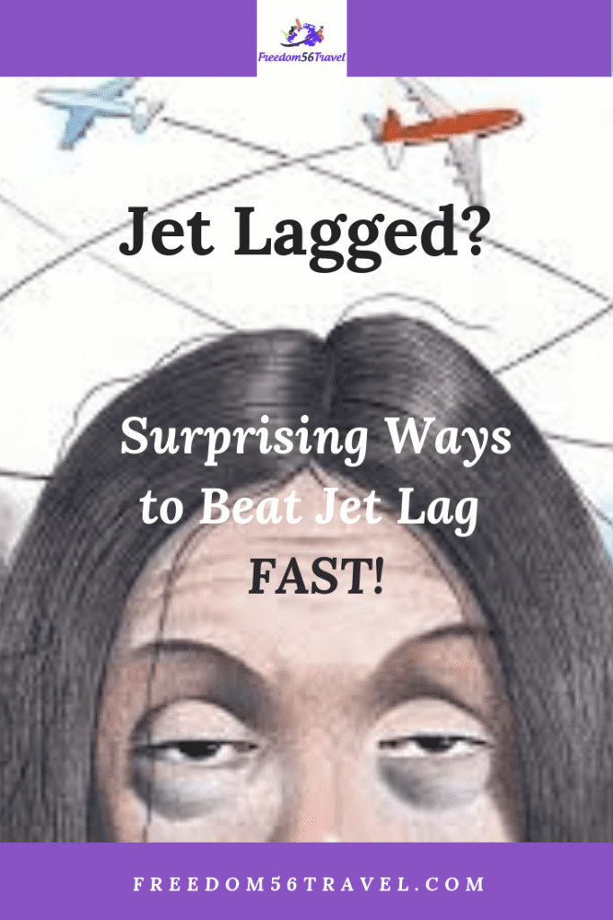 How to Get Over Jet Lag Pinterest image