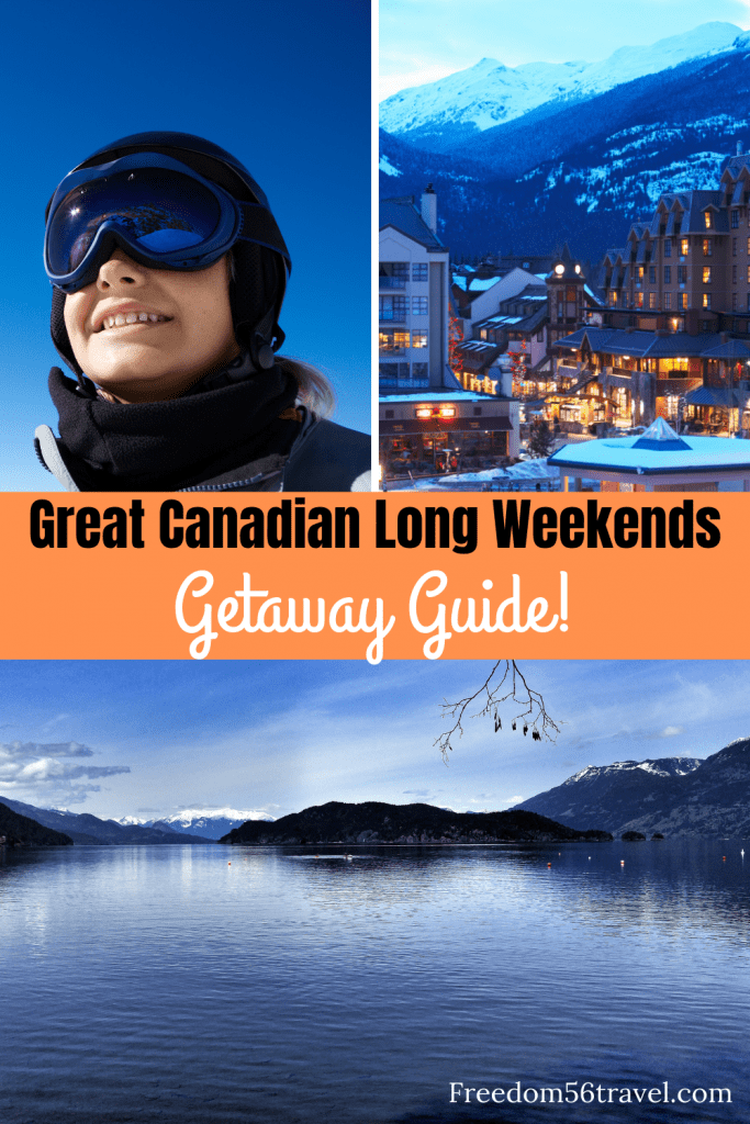 Pinterest image for Long weekend getaways from Vancouver