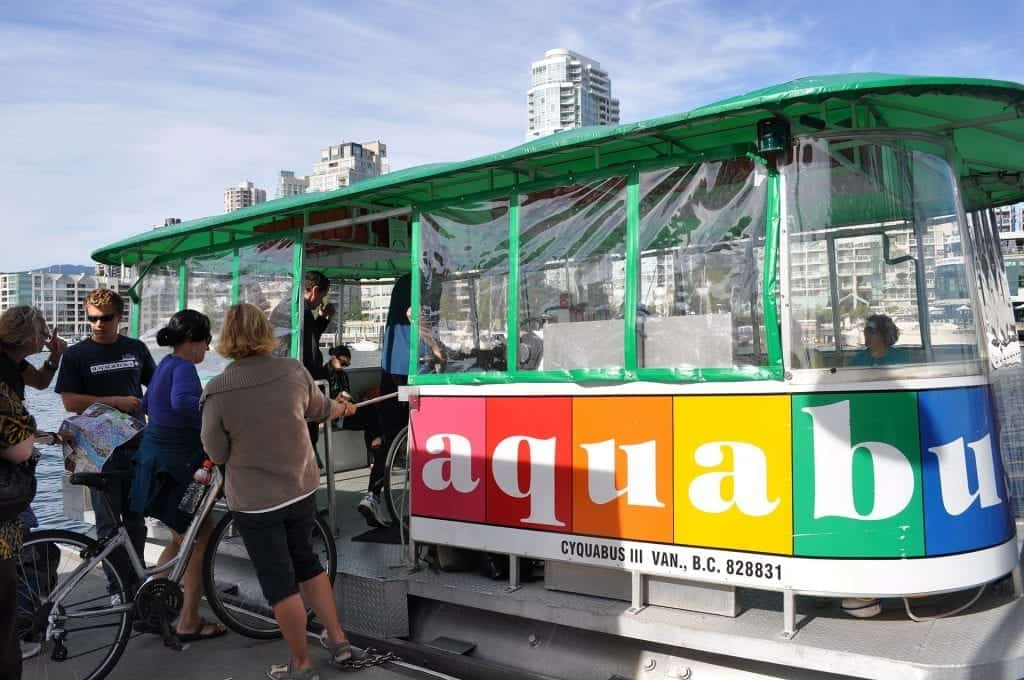 The Vancouver Aquabus - a great non-touristy thing to do in Vancouver
