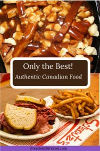 Pinterest image of Canada's National dishes