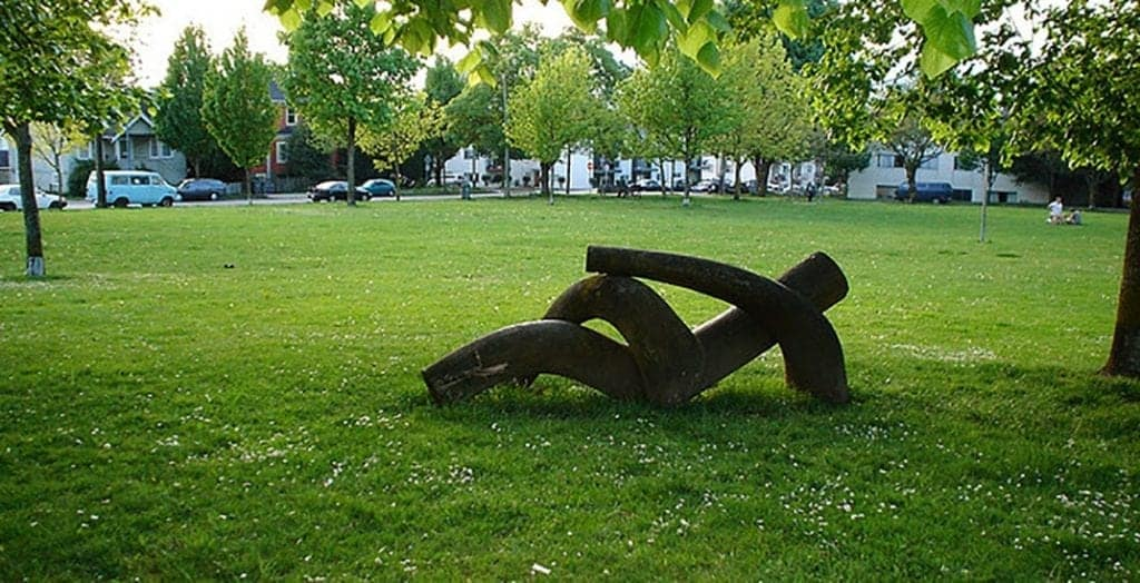 A Sculpture from Dude Chilling Park in Vancouver