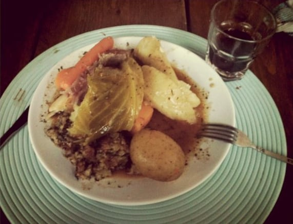 Jiggs Dinner, one of the more peculiar Canadian Foods