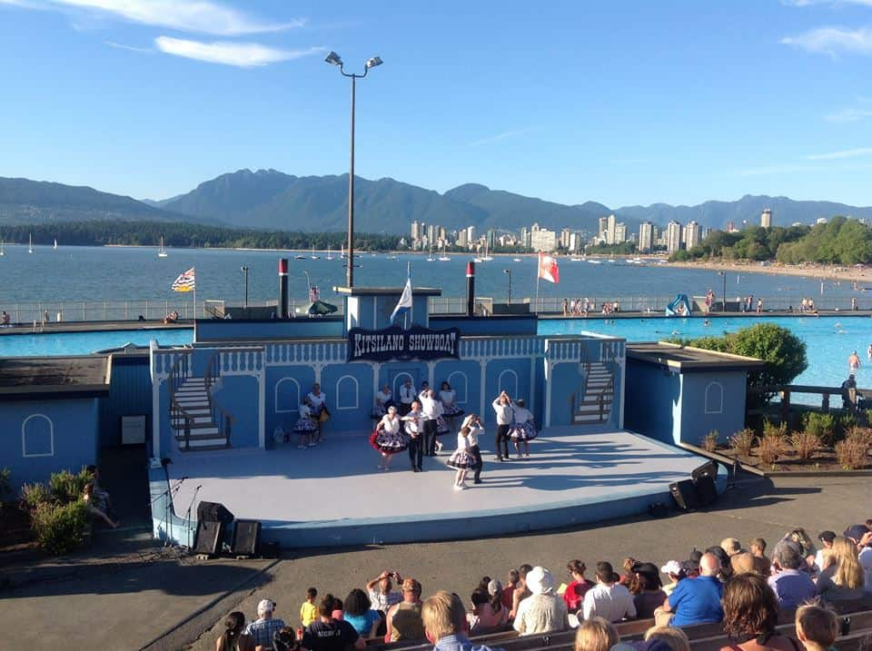 The Kitsilano Showboat - a outdoorsy non-touristy thing to do in Vancouver