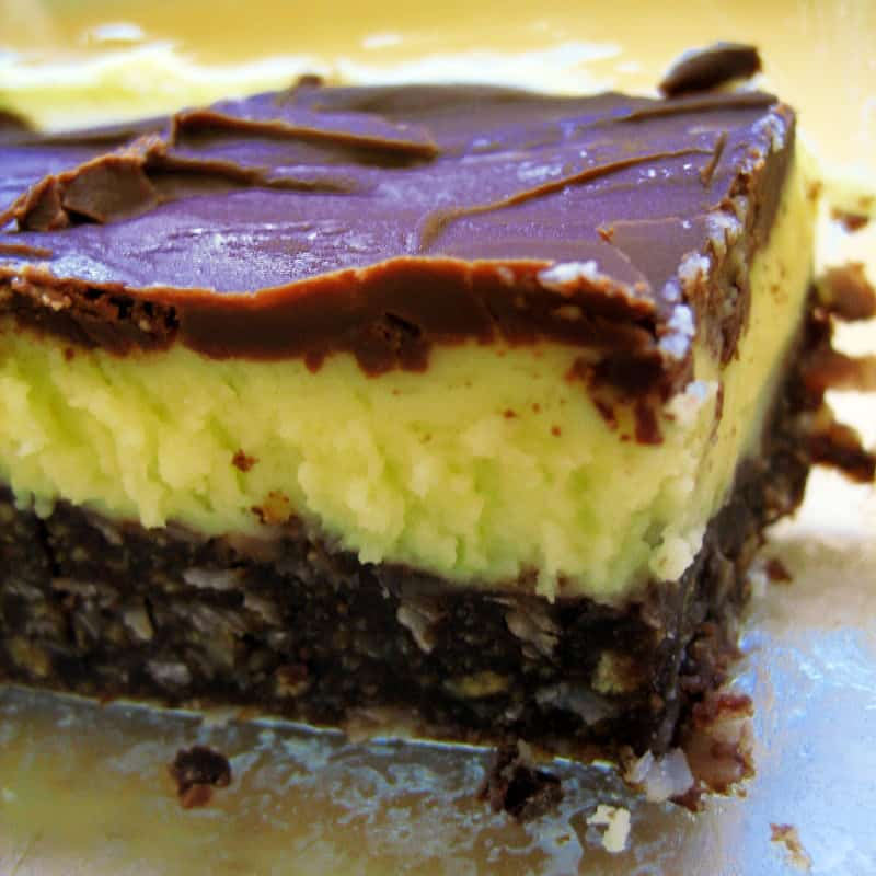 A delicious Nanaimo Bar
