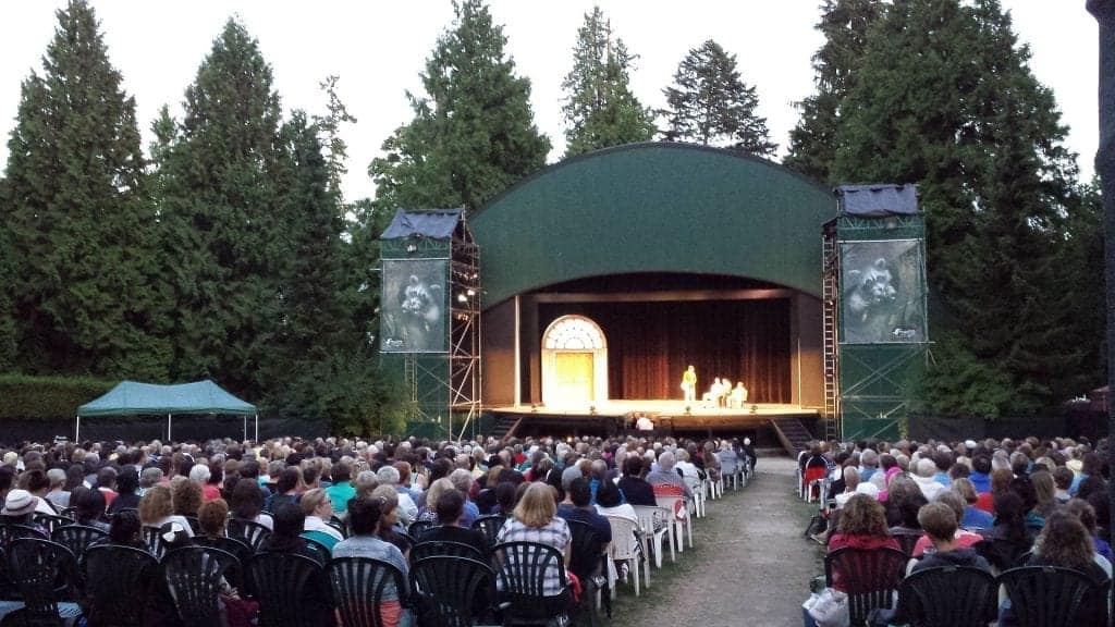 Theatre Under the Stars at Malkin Bowl in Vancouver, a great non-touristy thing to do in Vancouver