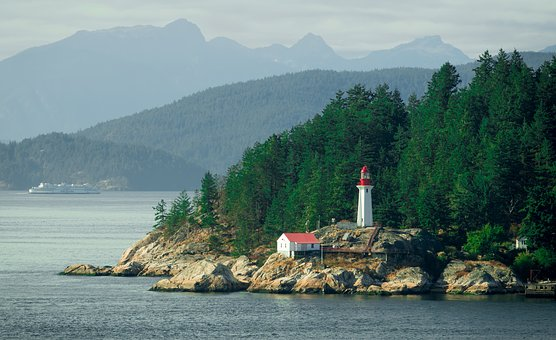 Lighthouse Point in Vancouver's Stanley Park