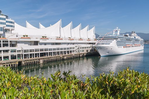 Canada Place Cruise Ship Terminal in Vancouver