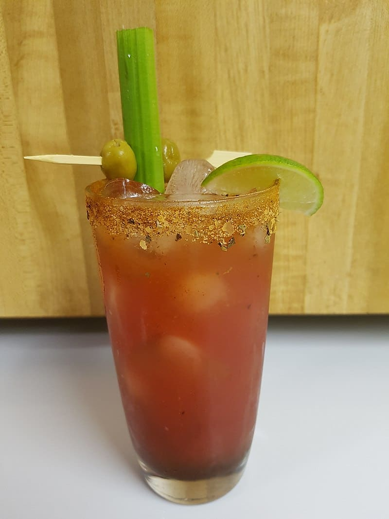 A Bloody caesar cocktail - A uniquely Canadian Food