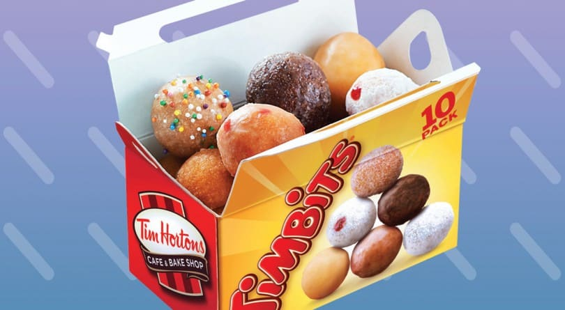 A Box of Timbits - A Canadian delicacy