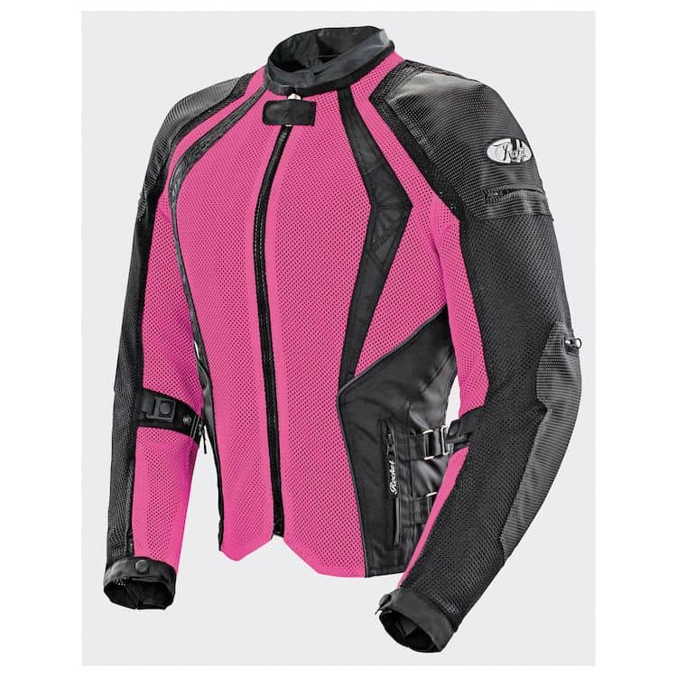 a vented women's motorcycle jacket - essential to women's biker clothing