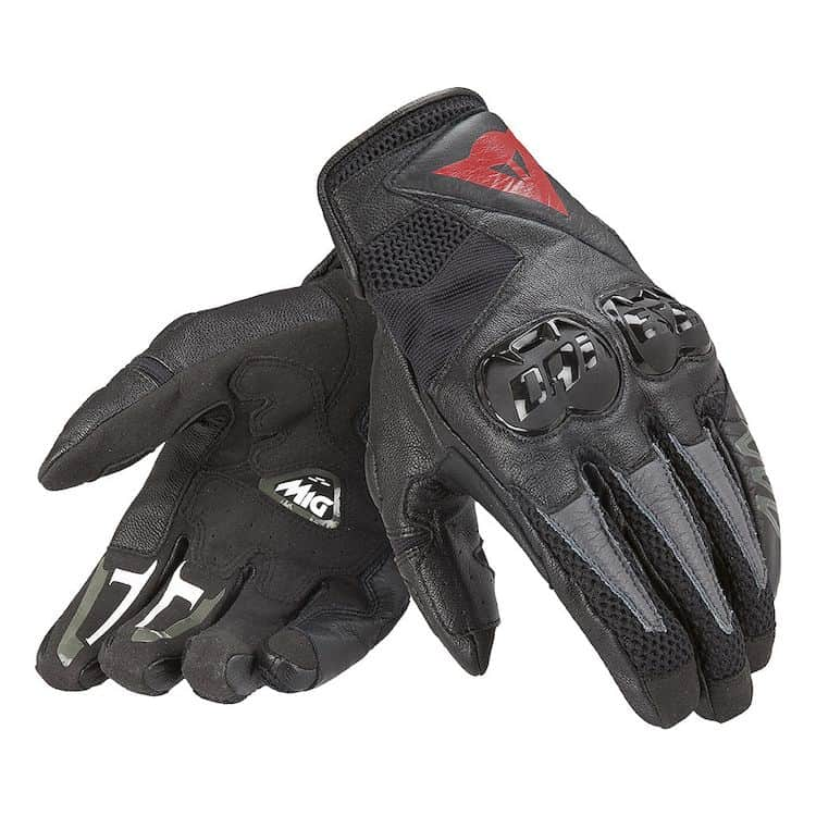 ladies summer motorcycling gloves - part of women's biker clothing