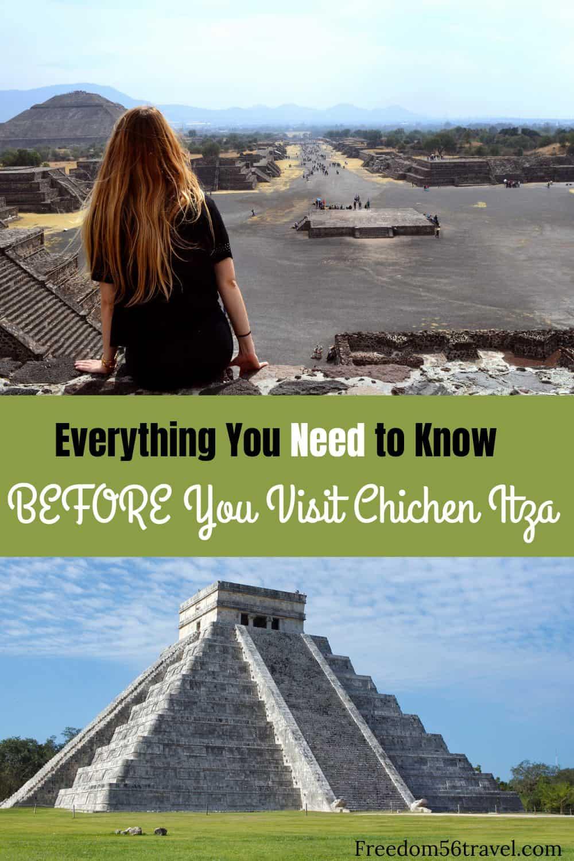 Pinterest image of Chichen Itza
