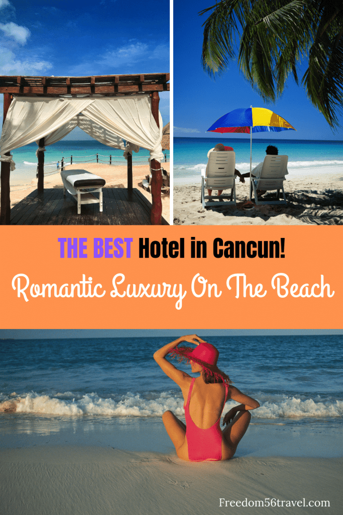 Pinterest Image of where to stay in Cancun