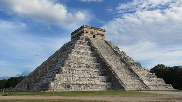Kukulcan's pyramid, visible on your tour of Chichen Itza