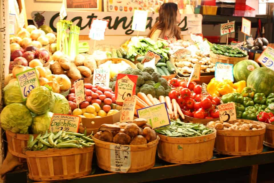 Delicious Produce at Granville Island Public Market