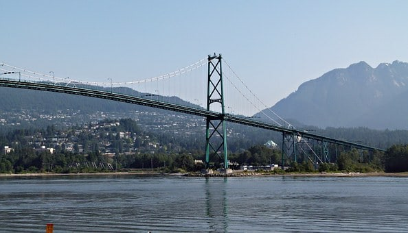 Lion's Gate Bridge - part of your Vancouver itinerary 4 days