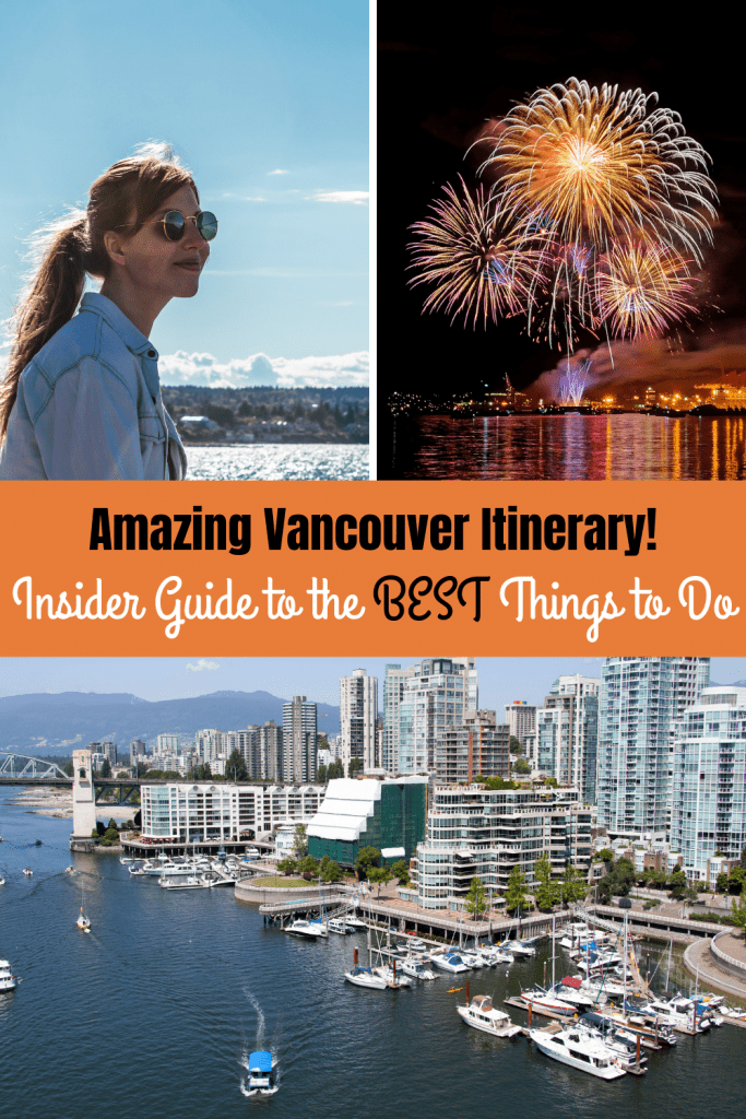 Pinterest image of Vancouver itinerary