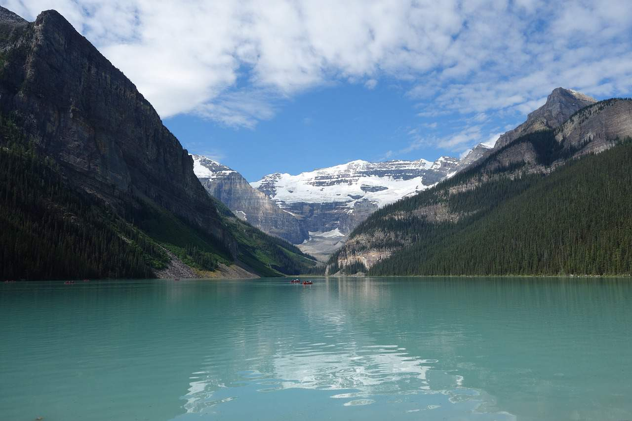 Lake Louise, in Banff National Park, Alberta