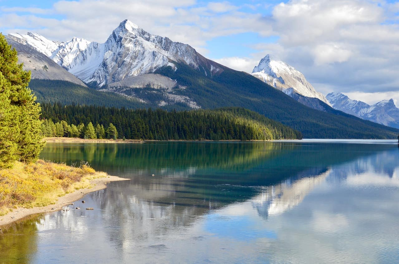 Jasper National Park, in Alberta