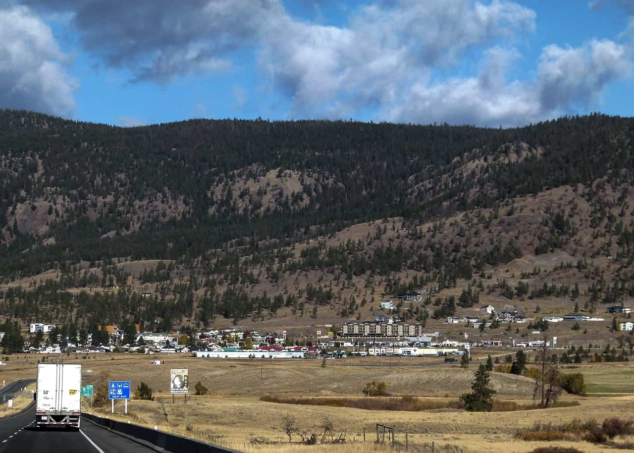 Merritt, British Columbia - a town on the drive from Vancouver to Banff