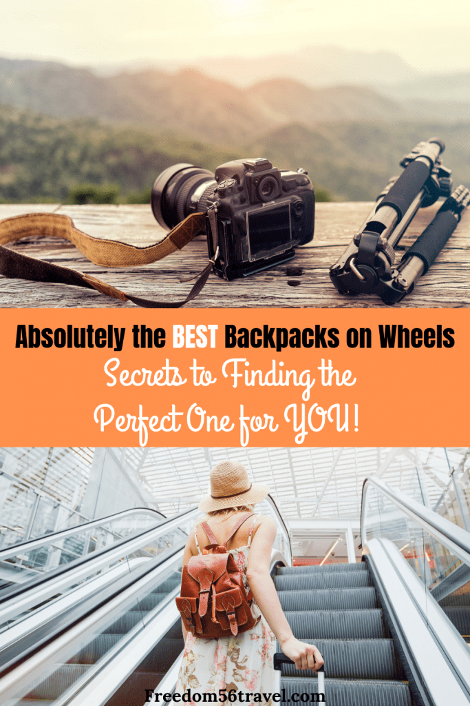 Pinterest image for best wheeled backpack