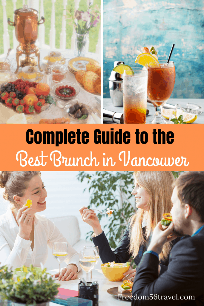 Pinterest image for best brunch in Vancouver