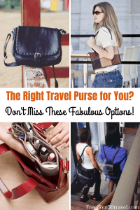 Pinterest Image for Best Travel Purses
