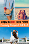 Pinterest Image for best travel purse