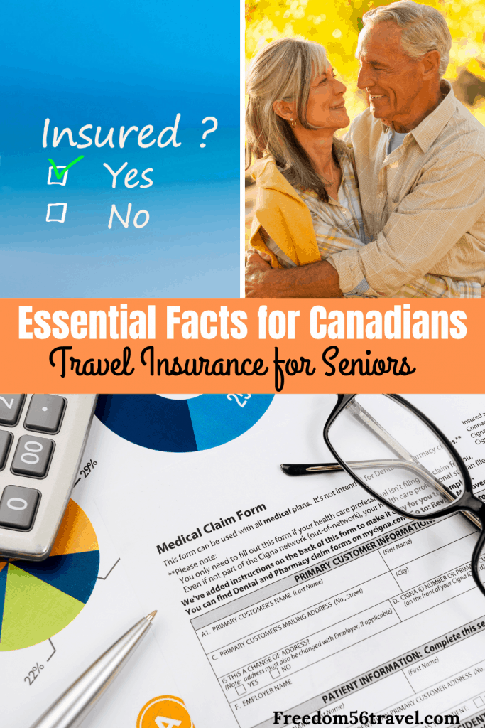 Pinterest image for Travel medical insurance for Canadian seniors