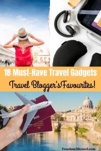Pinterest image for best travel gadgets