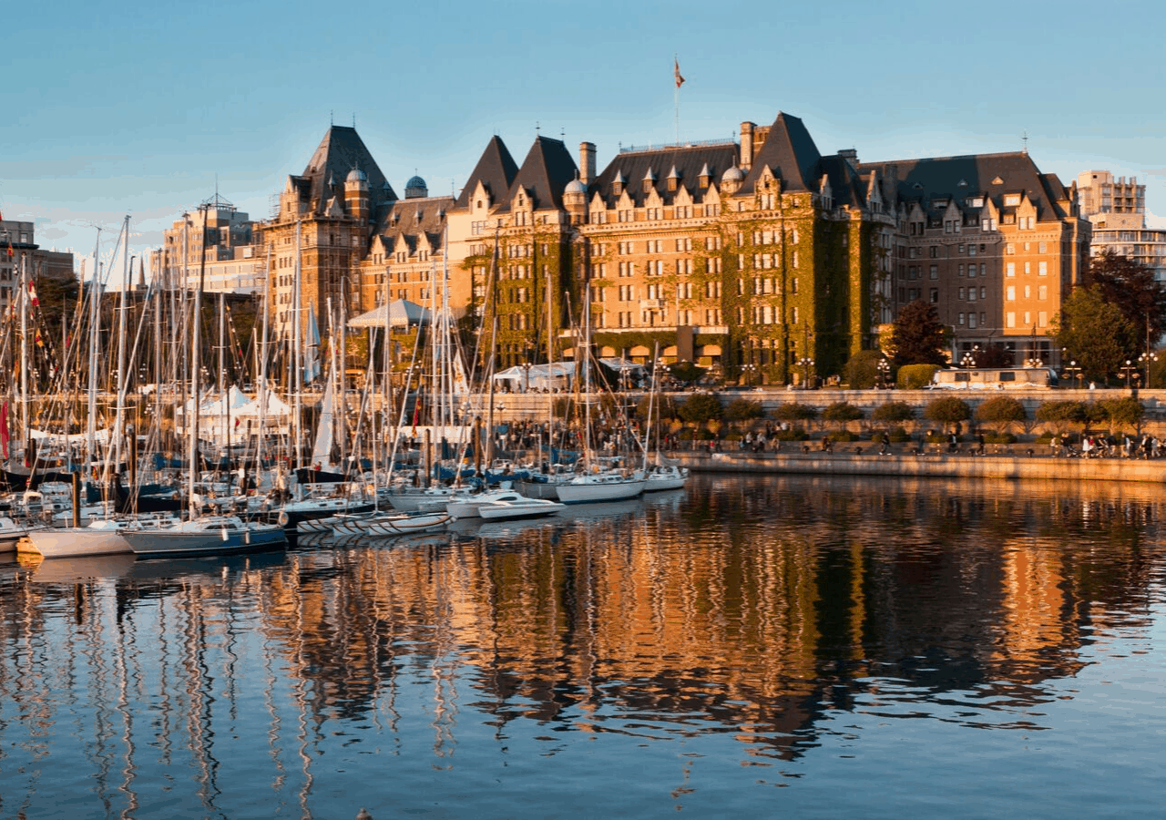 Fairmont Empress Hotel, one of the great places to stay in Victoria
