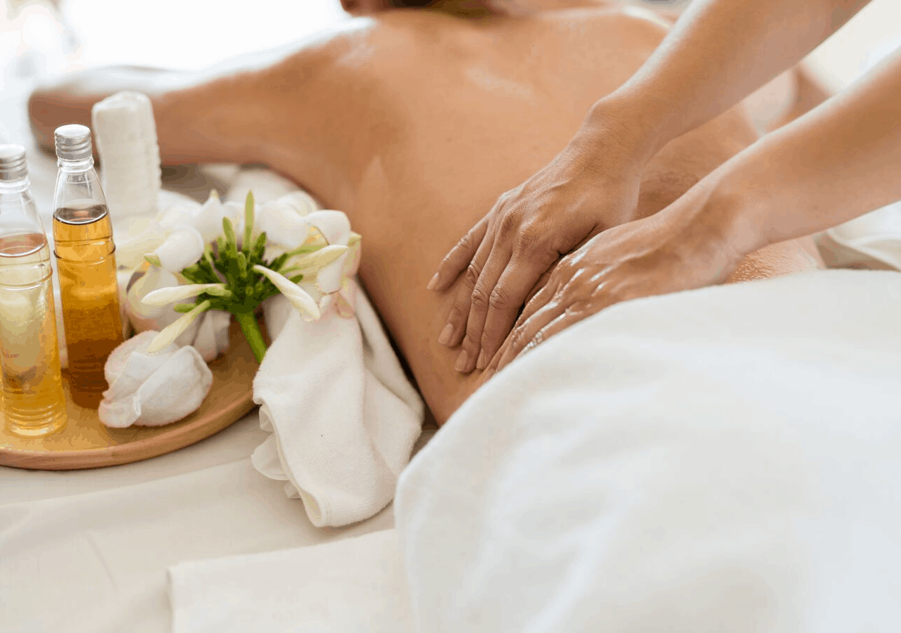 Spa treatment at Kingfisher Oceanfront Resort & Spa, where to go in British Columbia