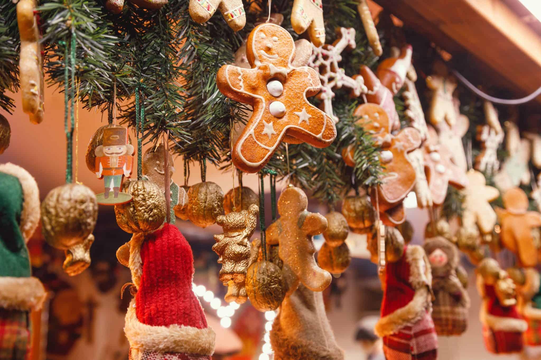 Beautiful display of Christmas crafts - Christmas Vancouver