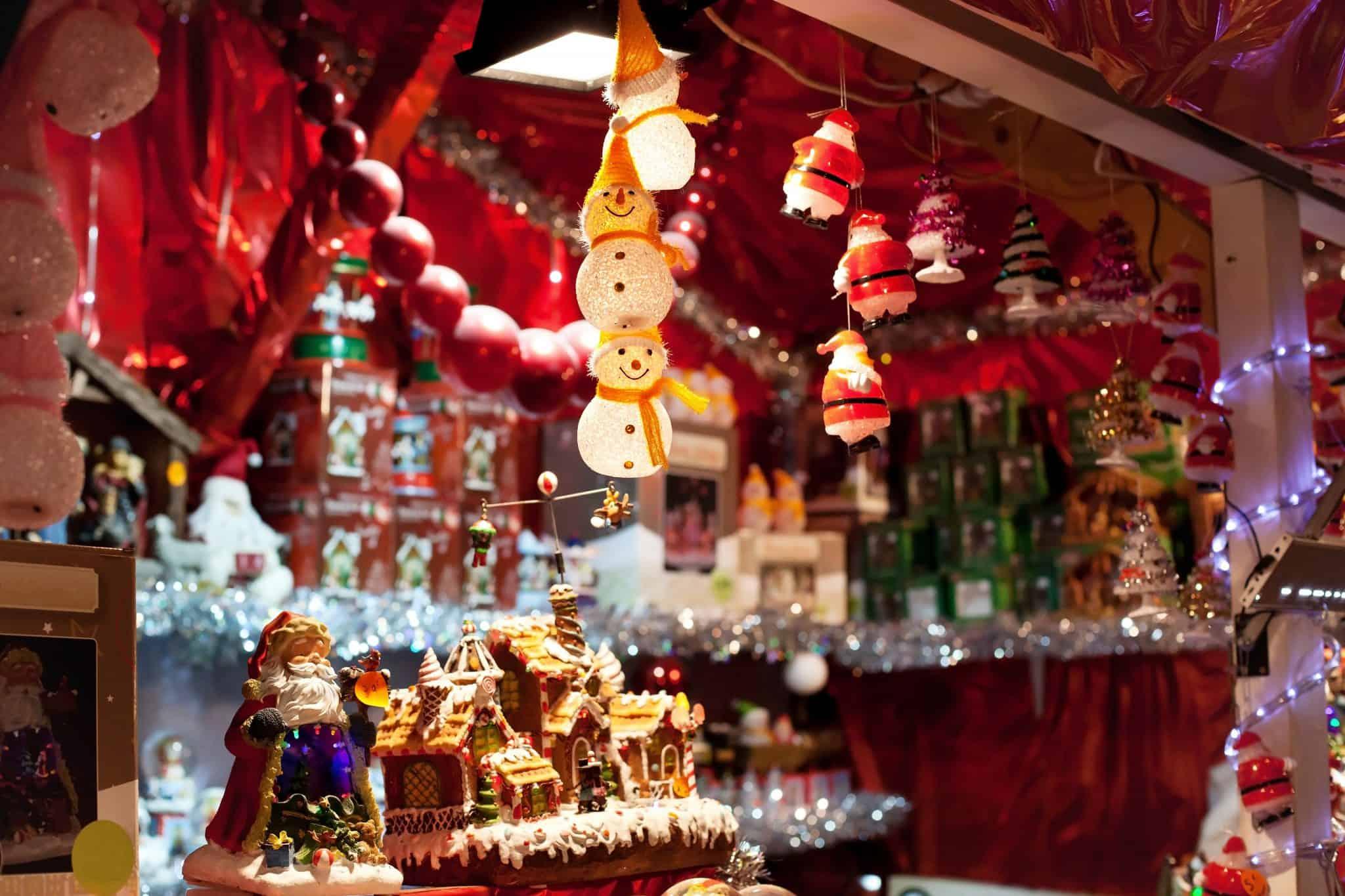 Christmas Display - Canada Christmas traditions