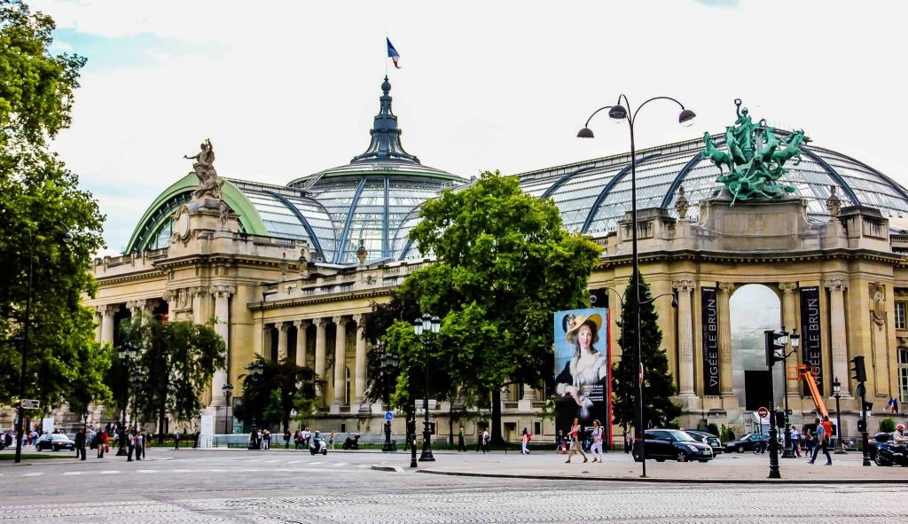 Grand Palais des Champs-Elysees. Paris, France