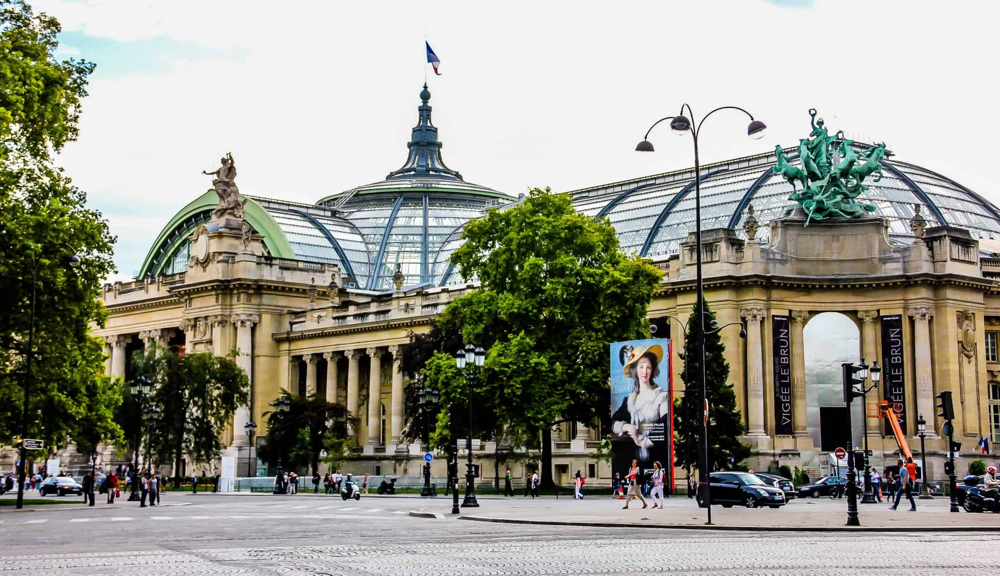 The Grand Palais in Paris, what to visit in Paris in 4 days