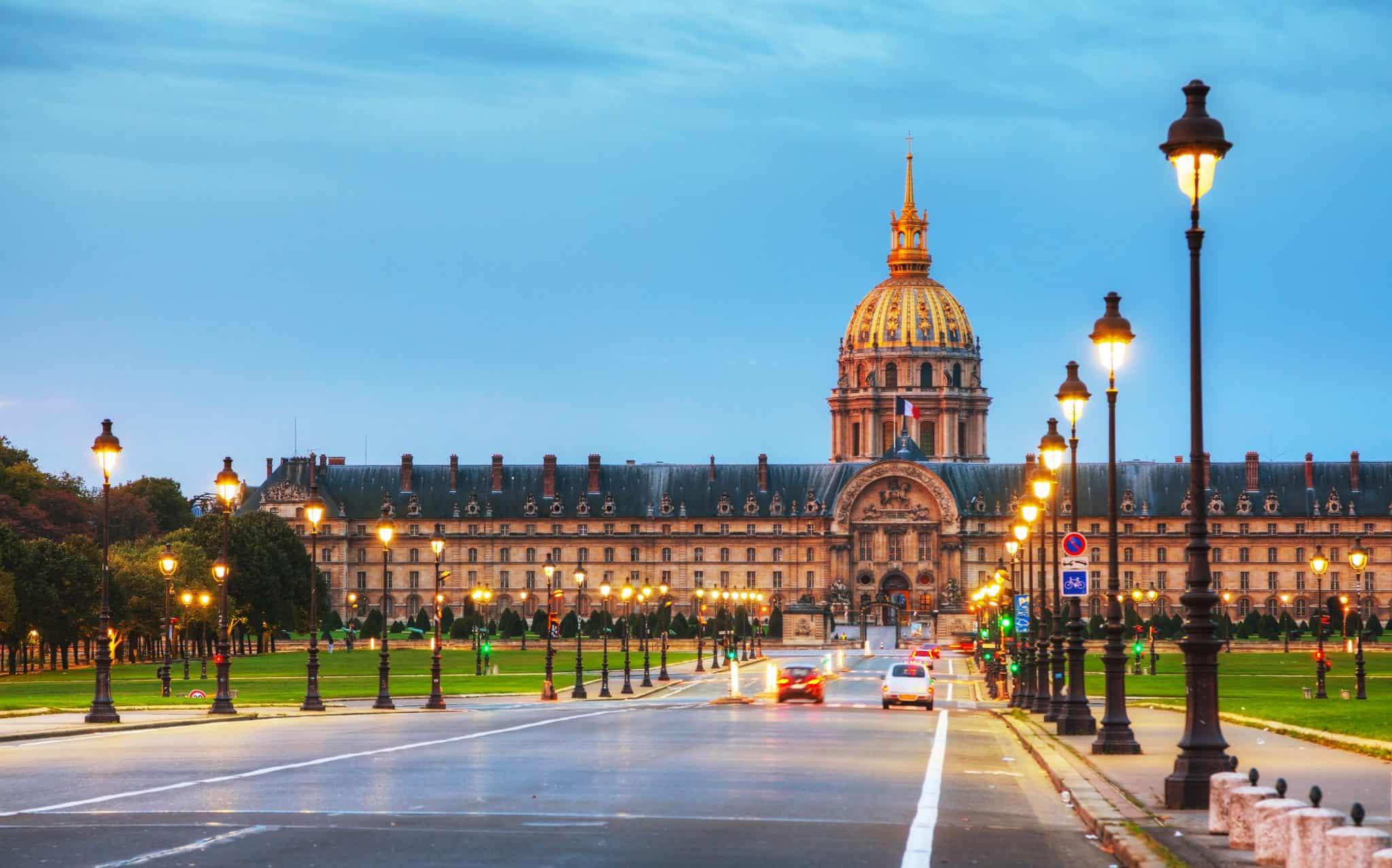 Les Invalides - visit Paris 4 days