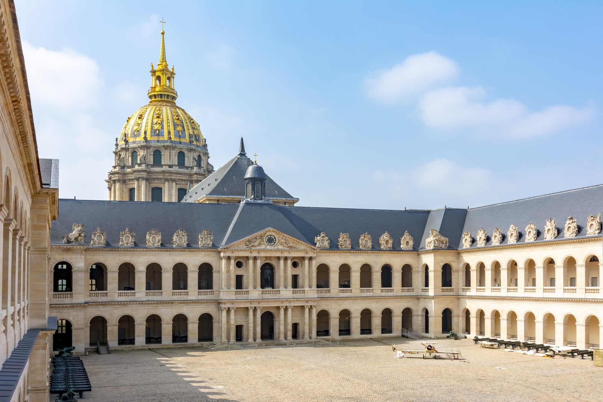 Les Invalides in Paris - visit Paris 4 days
