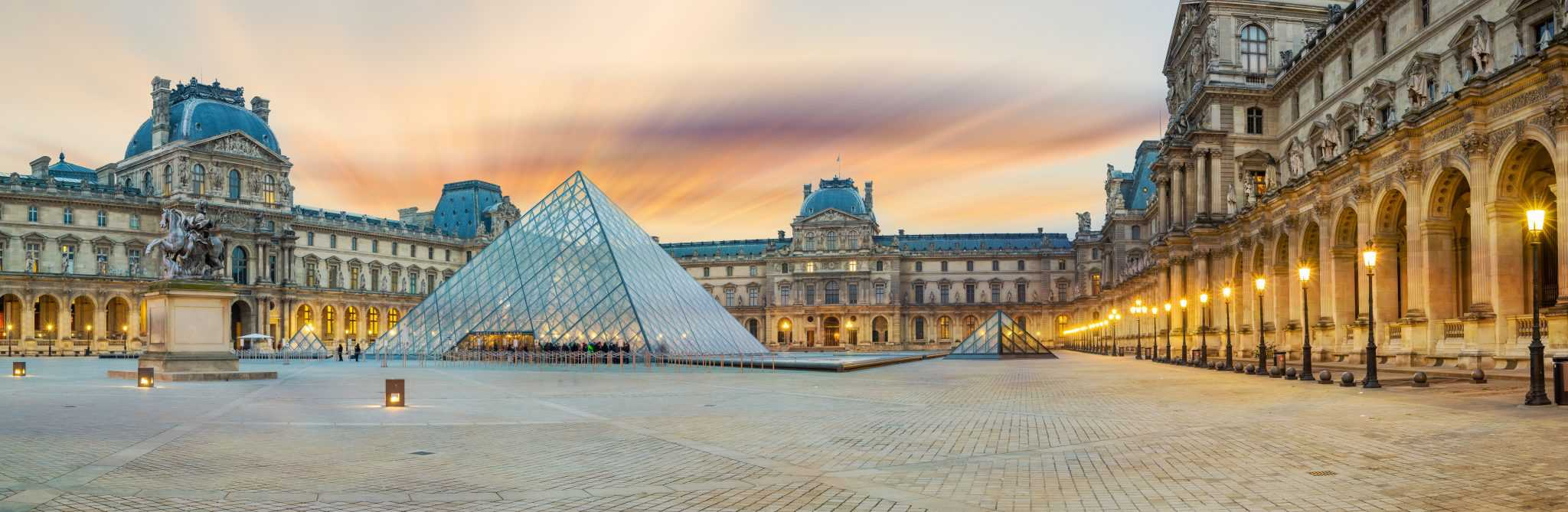 The Louvre Museum Exterior, 4 days in Paris things to do