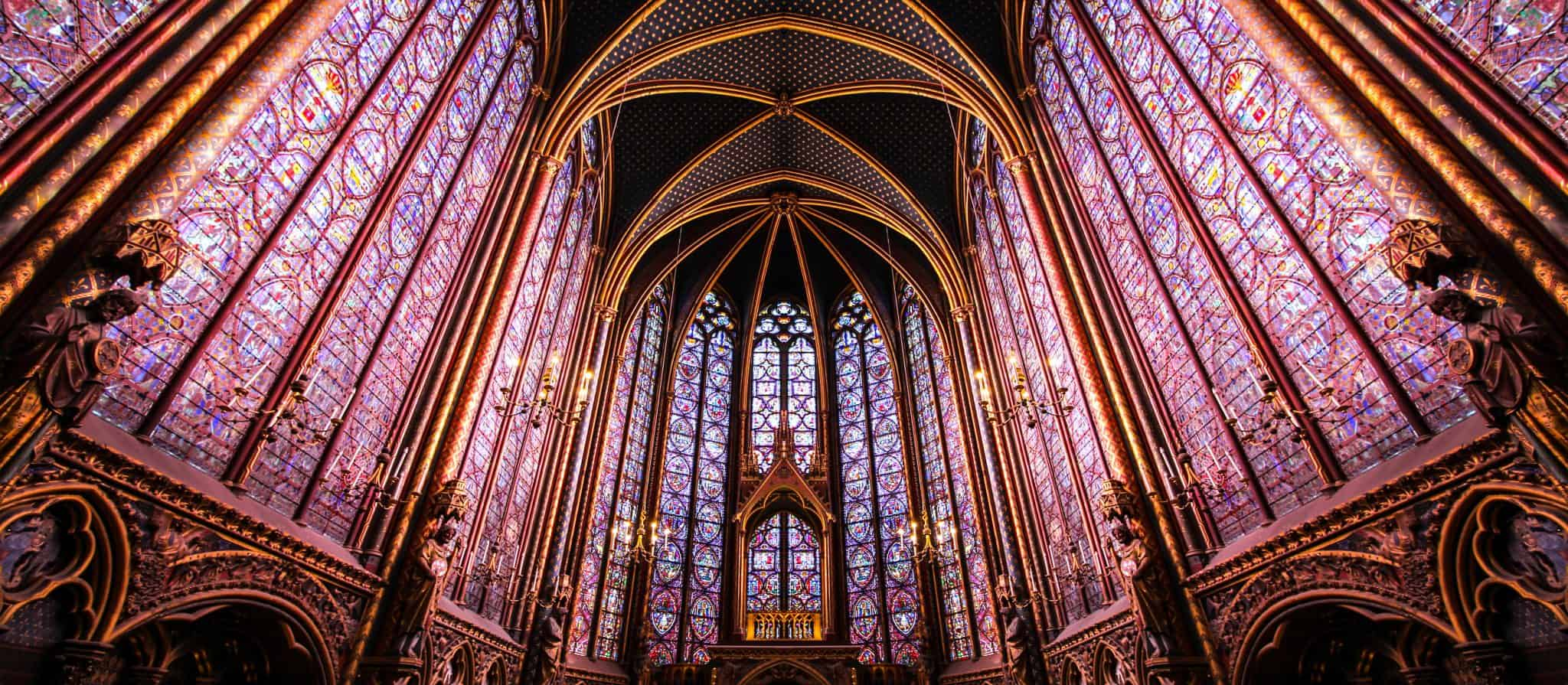 Stained Glass at Sainte-Chapelle, Paris - 4 days in Paris what to do