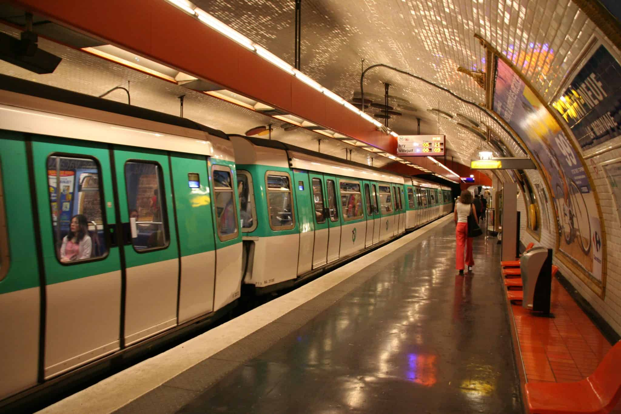 The Metro in Paris