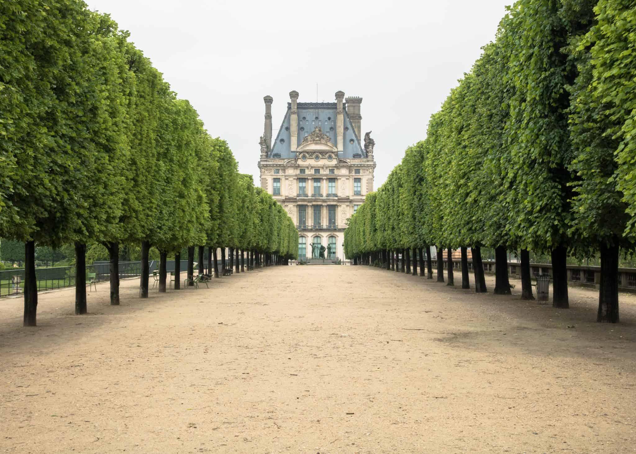 The Tuileries Gardens in Paris - visit Paris in 4 days